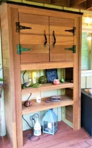 Ipe Wood TV cabinet