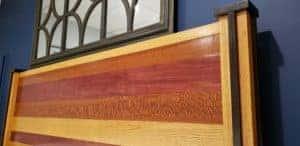 5 Wood Head Board