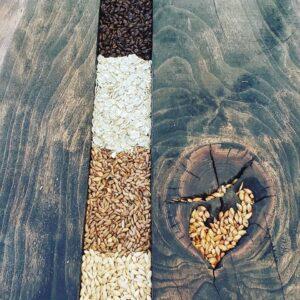 Barley Epoxy Table